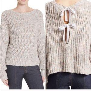 Cinq a sept | Cierra chunky bow sweater